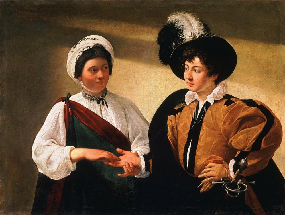 Caravaggio Falcı, Kanvas Tablo, Caravaggio, kanvas tablo, canvas print sales