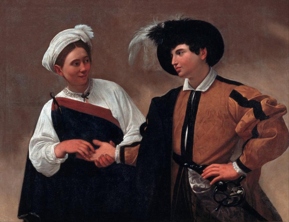 Caravaggio Good Luck, Canvas, Caravaggio, kanvas tablo, canvas print sales