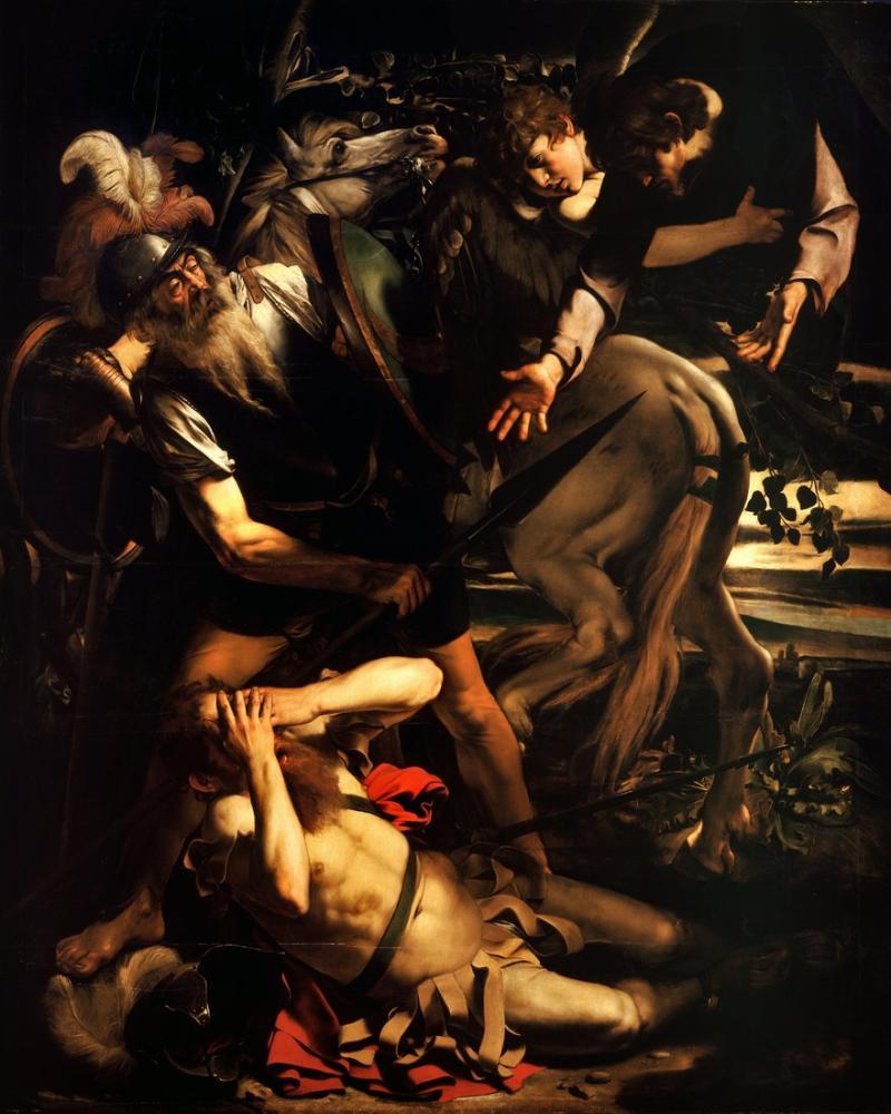 Caravaggio The Conversion Of Saint Paul, Canvas, Caravaggio