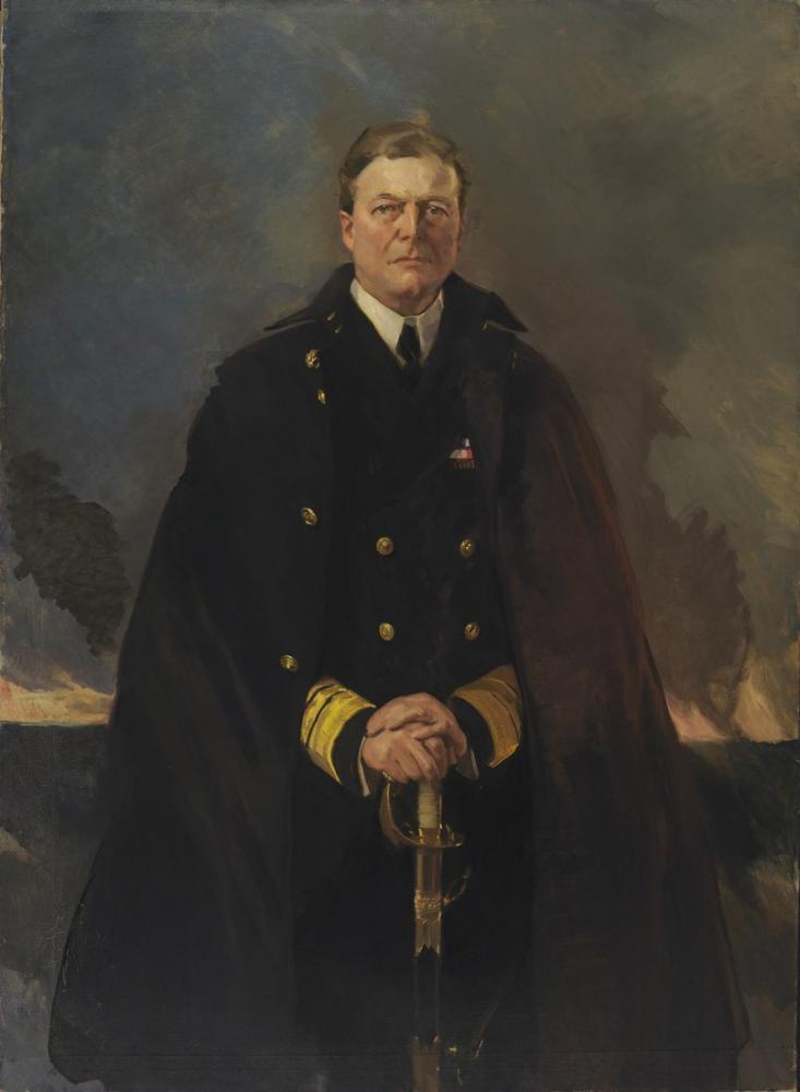 Cecilia Beaux, Amiral Sir David Beatty, Kanvas Tablo, Cecilia Beaux