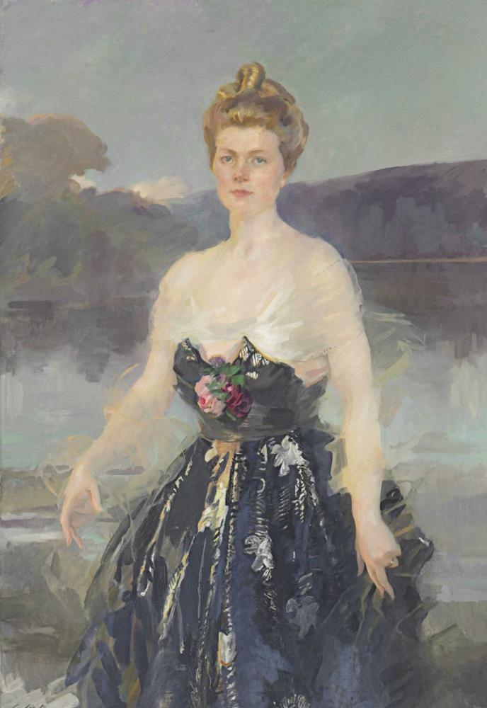 Cecilia Beaux, Bayan Albert Beveridge, Kanvas Tablo, Cecilia Beaux