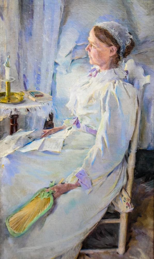 Cecilia Beaux, New England Kadın, Kanvas Tablo, Cecilia Beaux