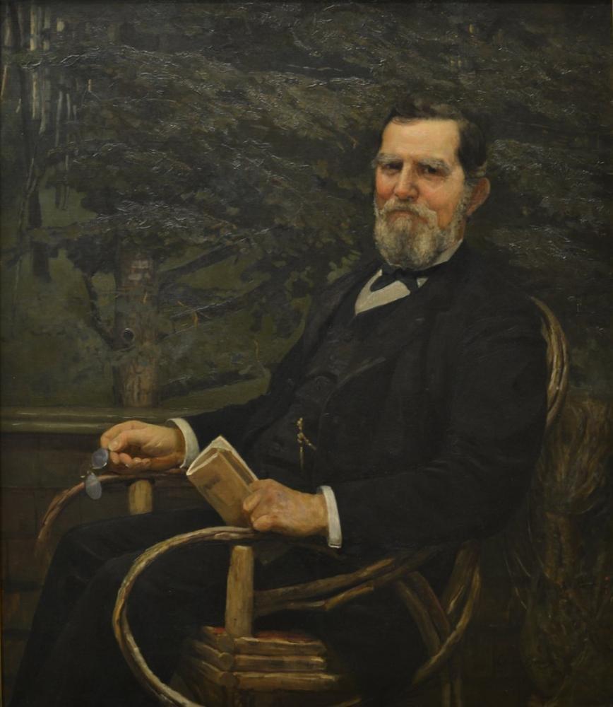 Cecilia Beaux, George Burnham ın Portresi, Kanvas Tablo, Cecilia Beaux, kanvas tablo, canvas print sales