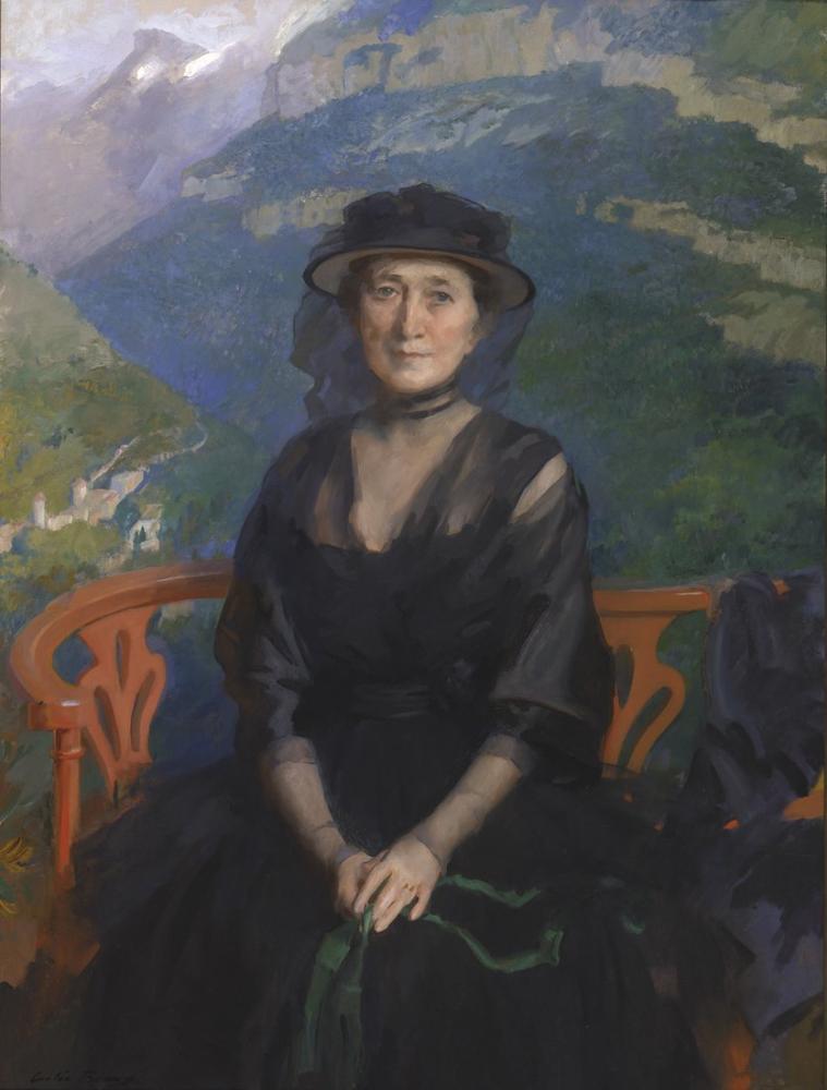 Cecilia Beaux, Bayan Addison Harris'in Portresi, Kanvas Tablo, Cecilia Beaux