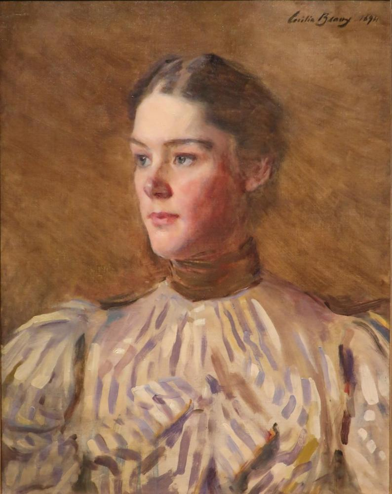 Cecilia Beaux, Self Portrait, Canvas, Cecilia Beaux, kanvas tablo, canvas print sales