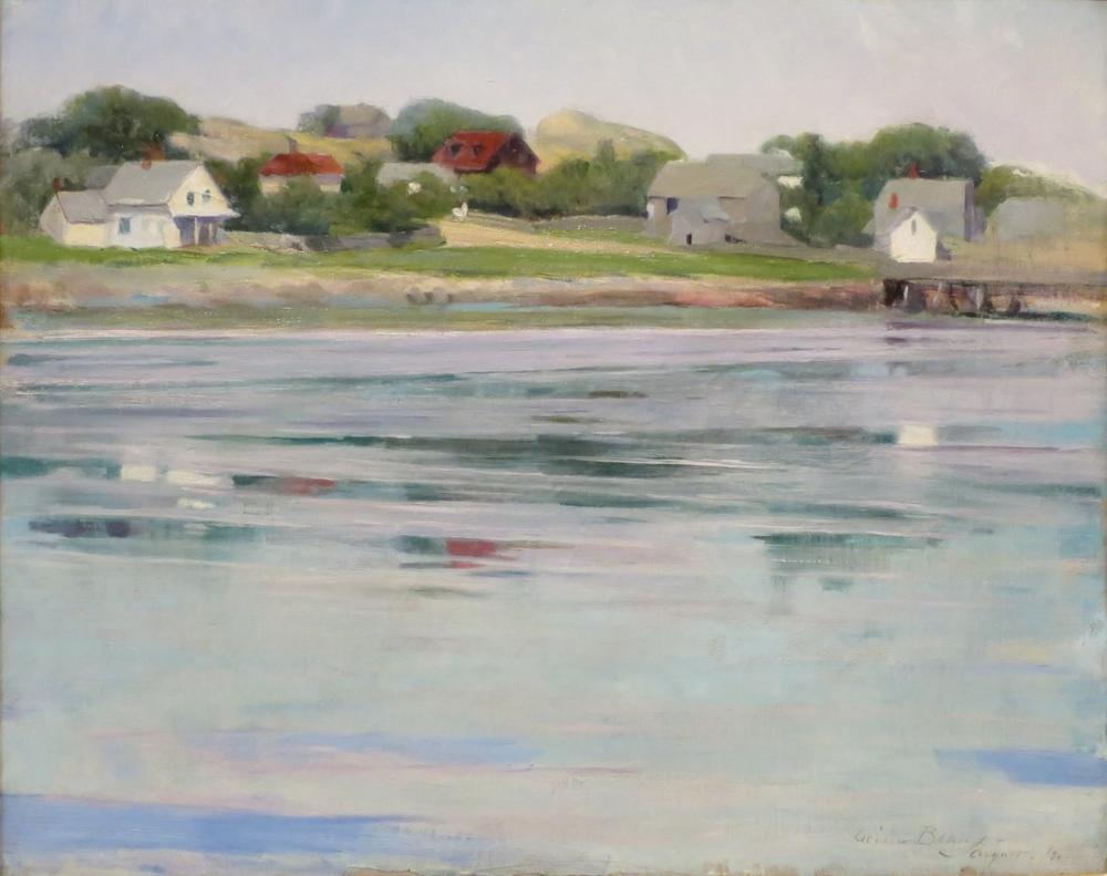 Cecilia Beaux, Beaux Yarı Gelgit Annisquam Nehri, Kanvas Tablo, Cecilia Beaux