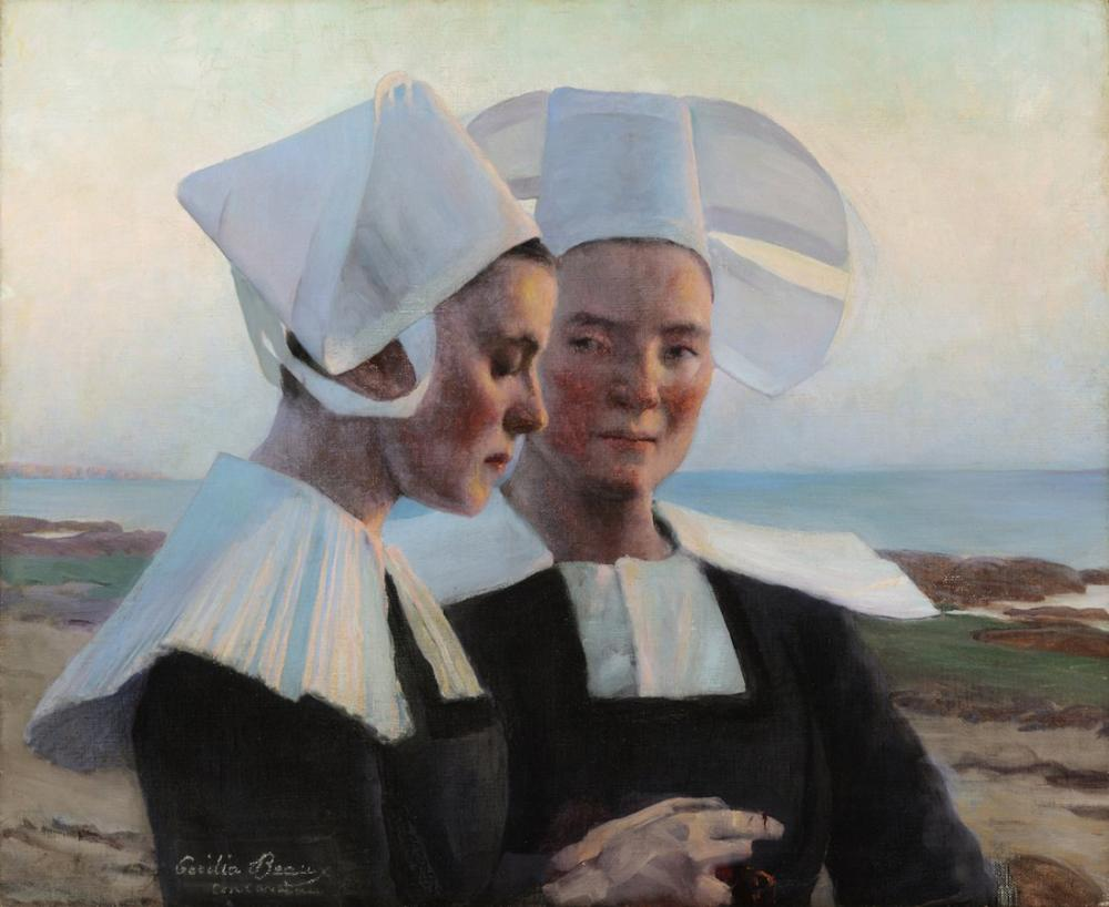 Cecilia Beaux, Alacakaranlık Güvenleri, Kanvas Tablo, Cecilia Beaux, kanvas tablo, canvas print sales