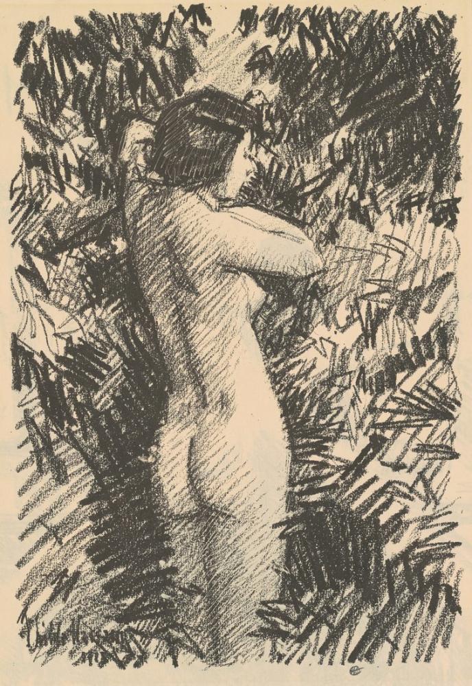 Childe Hassam, Nude, Canvas, Childe Hassam, kanvas tablo, canvas print sales