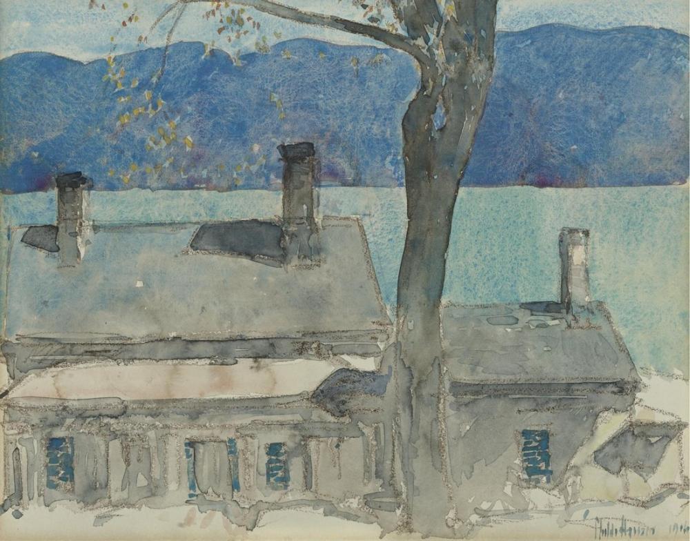 Childe Hassam, Paysages, Canvas, Childe Hassam, kanvas tablo, canvas print sales