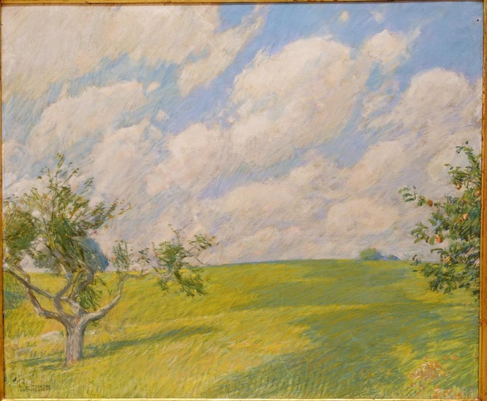 Childe Hassam, September Clouds, Canvas, Childe Hassam, kanvas tablo, canvas print sales