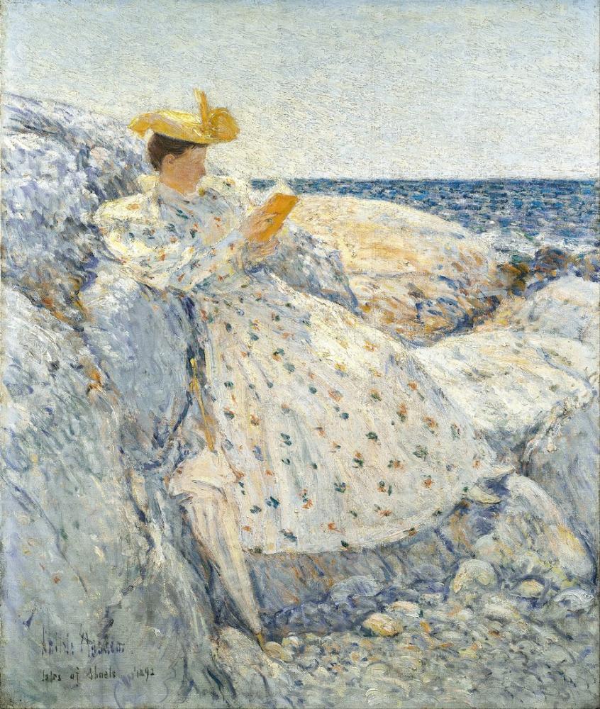 Childe Hassam, Yaz Güneş Işığı Shoals Adaları, Kanvas Tablo, Childe Hassam, kanvas tablo, canvas print sales