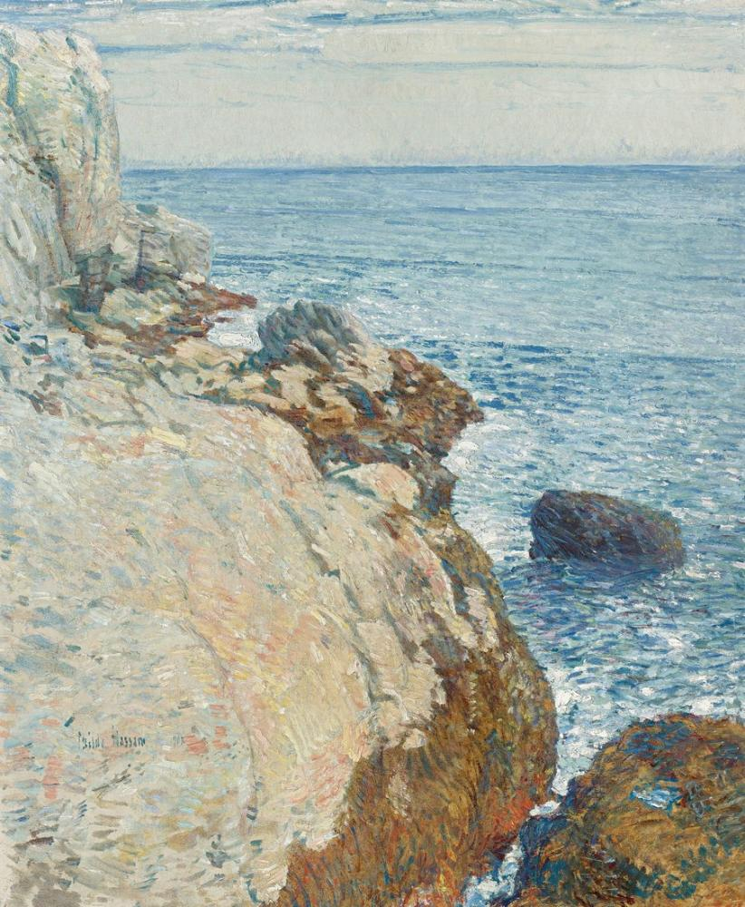 Childe Hassam, the East Headland, Canvas, Childe Hassam, kanvas tablo, canvas print sales