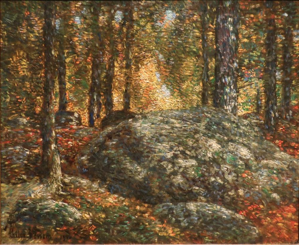 Childe Hassam, Mücevher Kutusu Old Lyme, Kanvas Tablo, Childe Hassam, kanvas tablo, canvas print sales