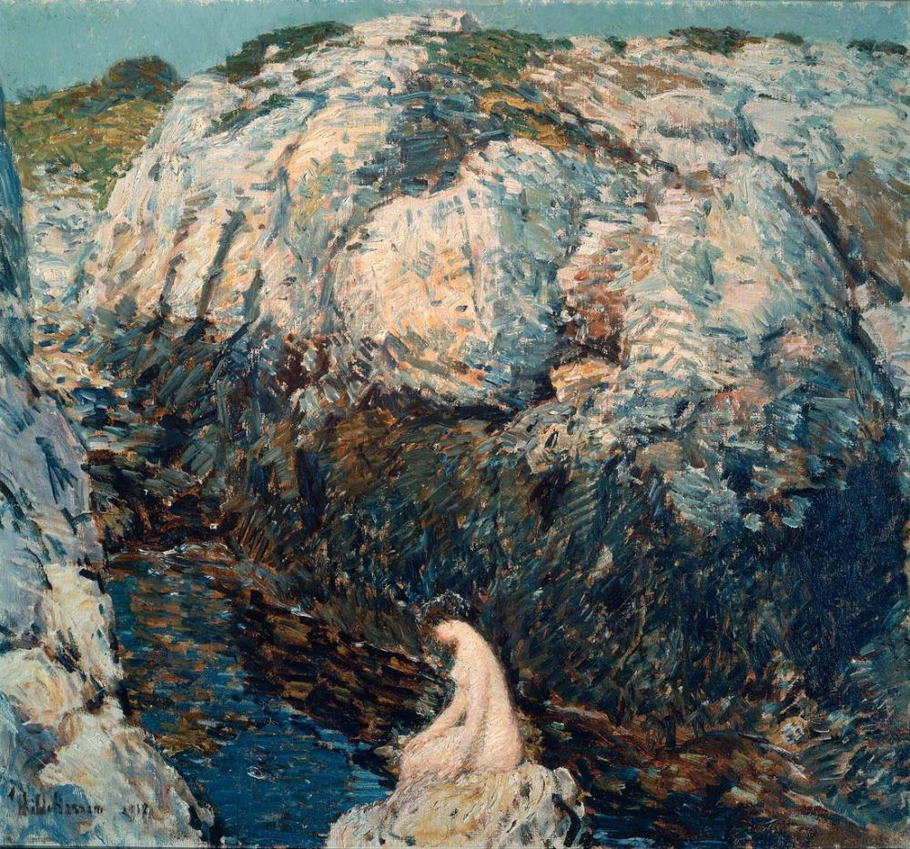 Childe Hassam, The Lady of the Gorge, Canvas, Childe Hassam, kanvas tablo, canvas print sales