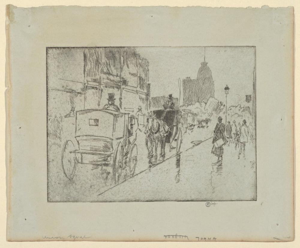 Childe Hassam, Union Square, Canvas, Childe Hassam, kanvas tablo, canvas print sales