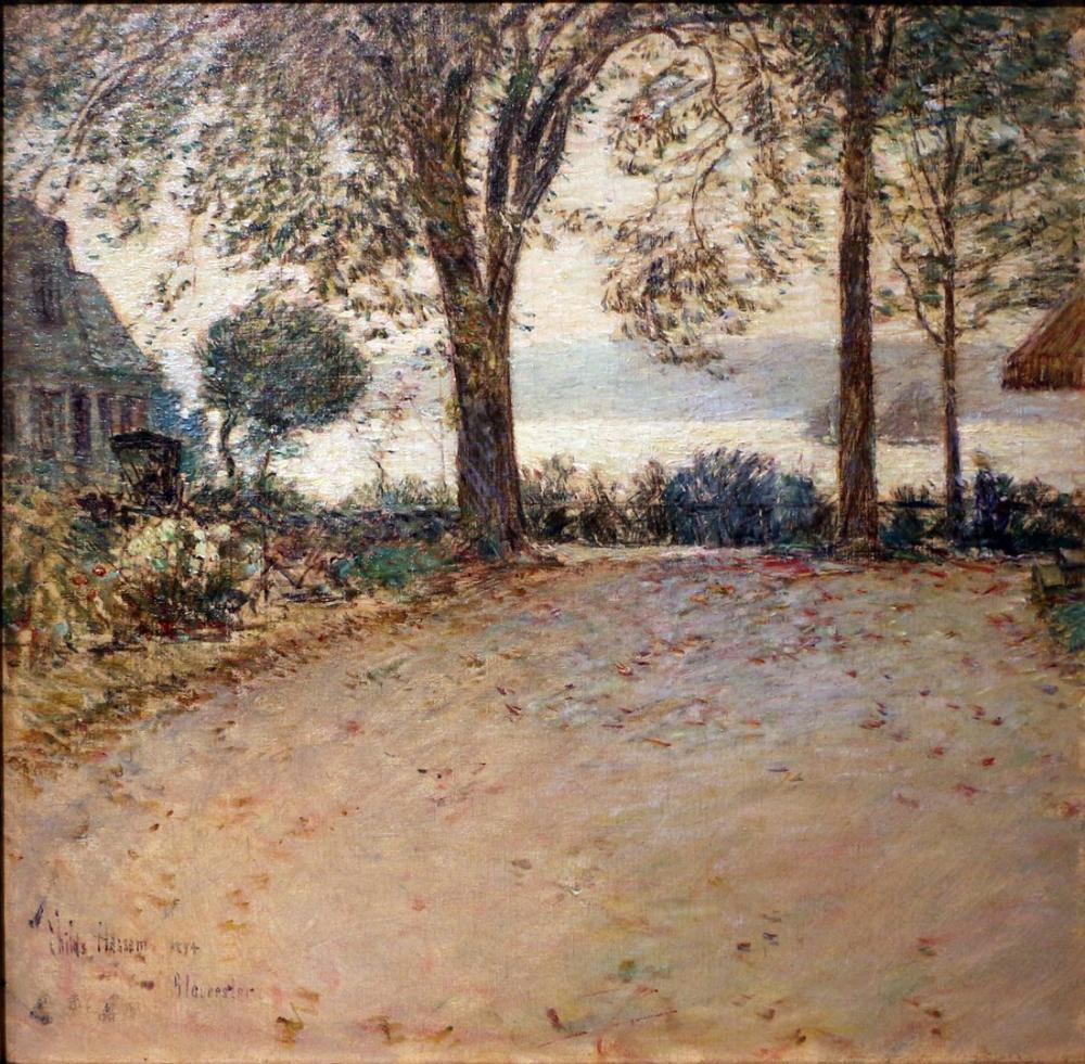 Childe Hassam, Gloucester Massachusetts, Canvas, Childe Hassam, kanvas tablo, canvas print sales