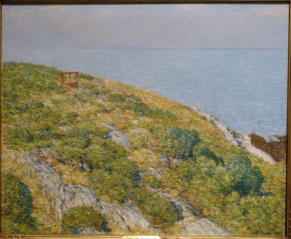 Childe Hassam, Shoals Adaları, Kanvas Tablo, Childe Hassam, kanvas tablo, canvas print sales