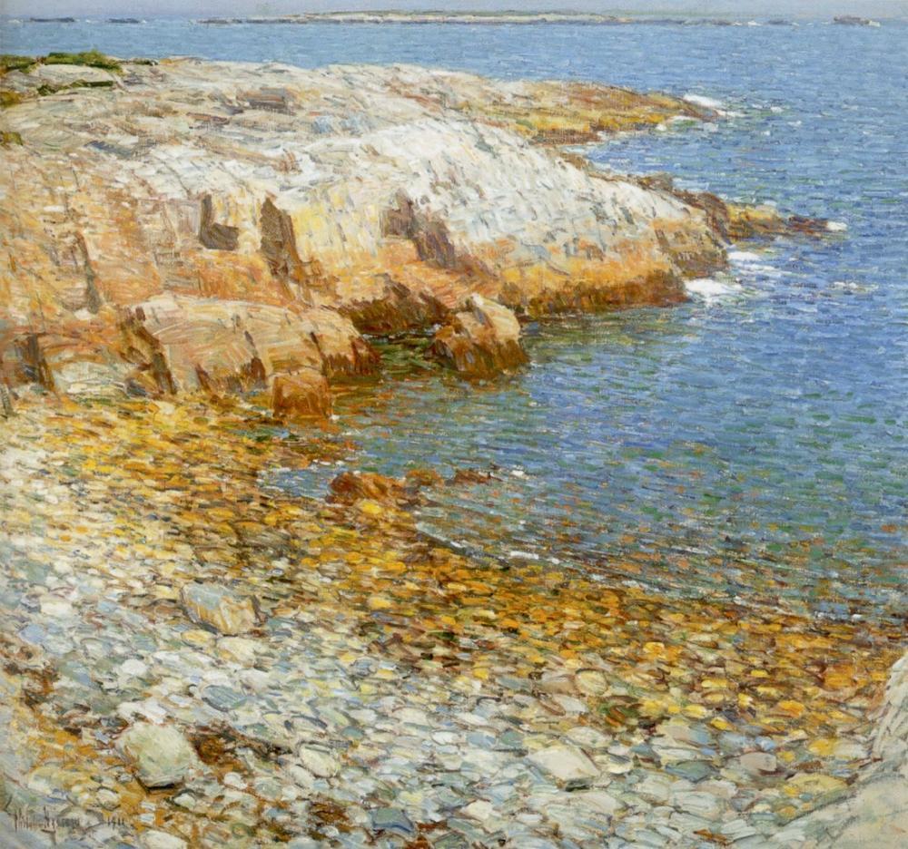 Childe Hassam, Isles of Shoals Broad Cove, Canvas, Childe Hassam, kanvas tablo, canvas print sales