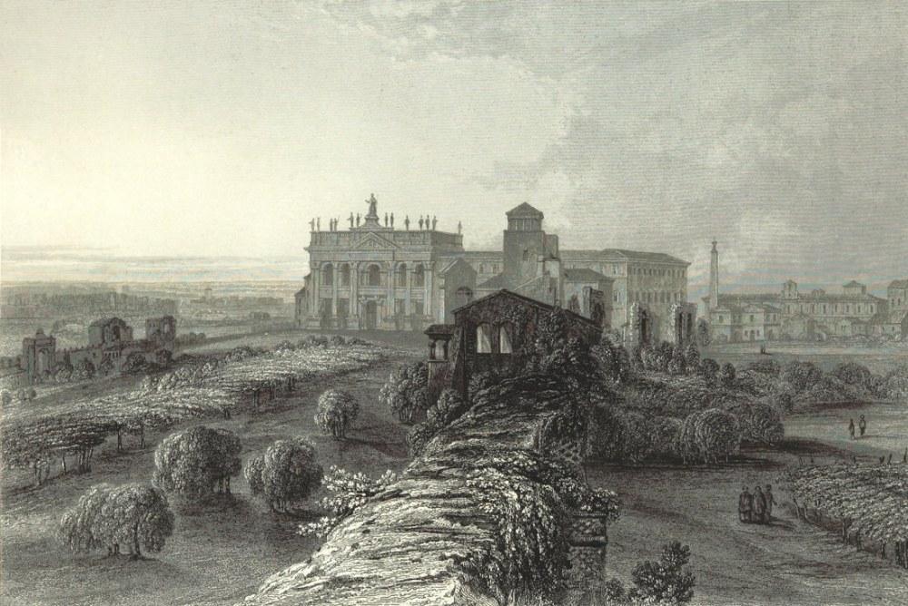 Laterano'daki Roma San Giovanni, Kanvas Tablo, Clarkson Frederick Stanfield