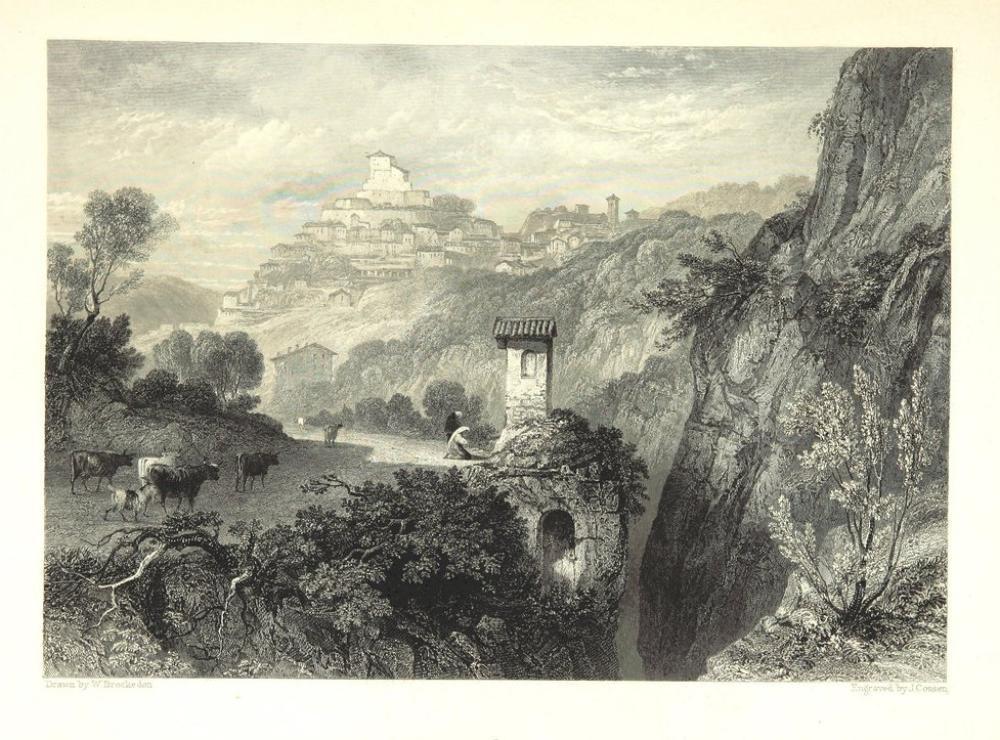 Subiaco, Kanvas Tablo, Clarkson Frederick Stanfield