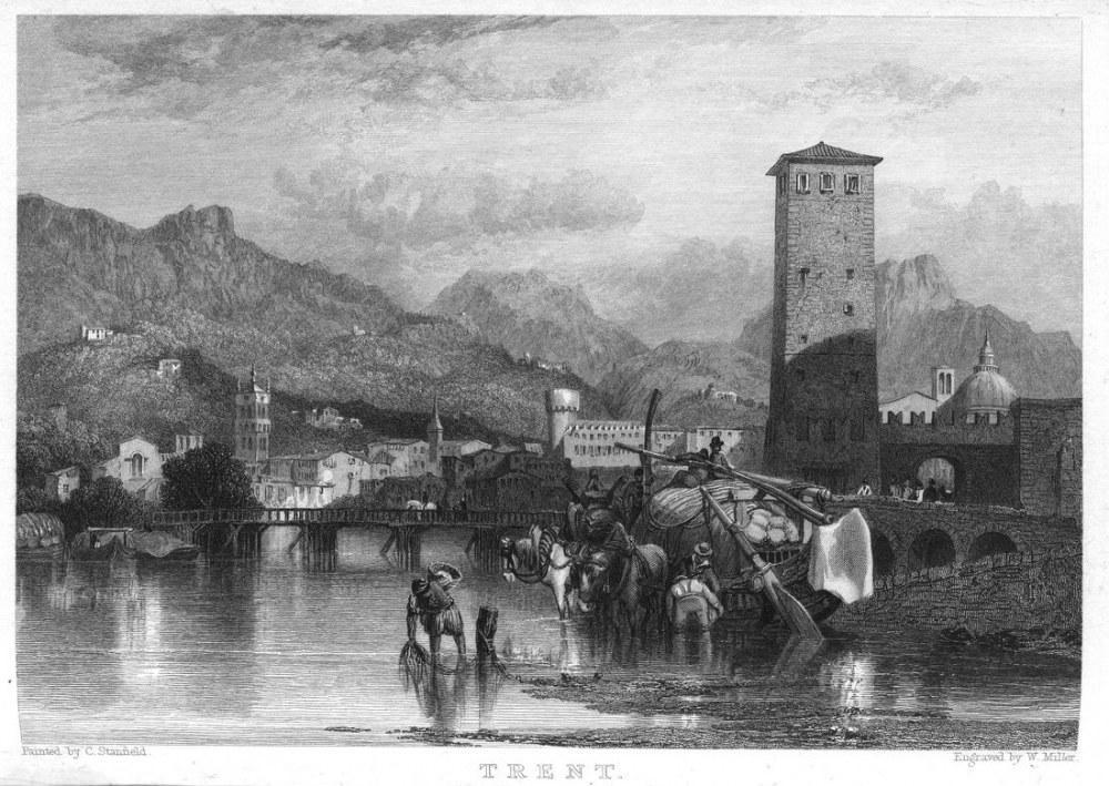 Trent Gravür, Kanvas Tablo, Clarkson Frederick Stanfield, kanvas tablo, canvas print sales