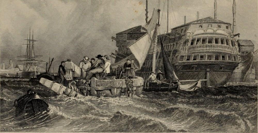 Fransa Kıyıları, Clarkson Stanfield, Kanvas Tablo, Clarkson Frederick Stanfield