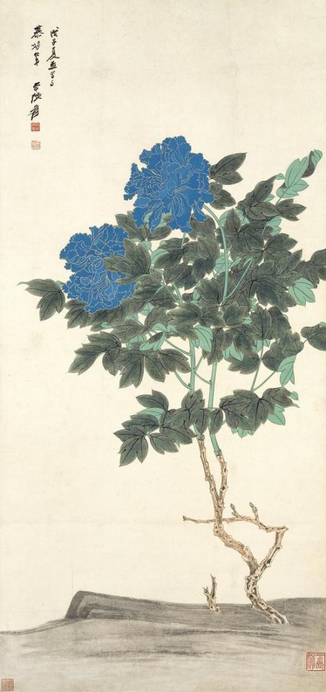 Daqian Zhang Çiçekler, Kanvas Tablo, Daqian Zhang