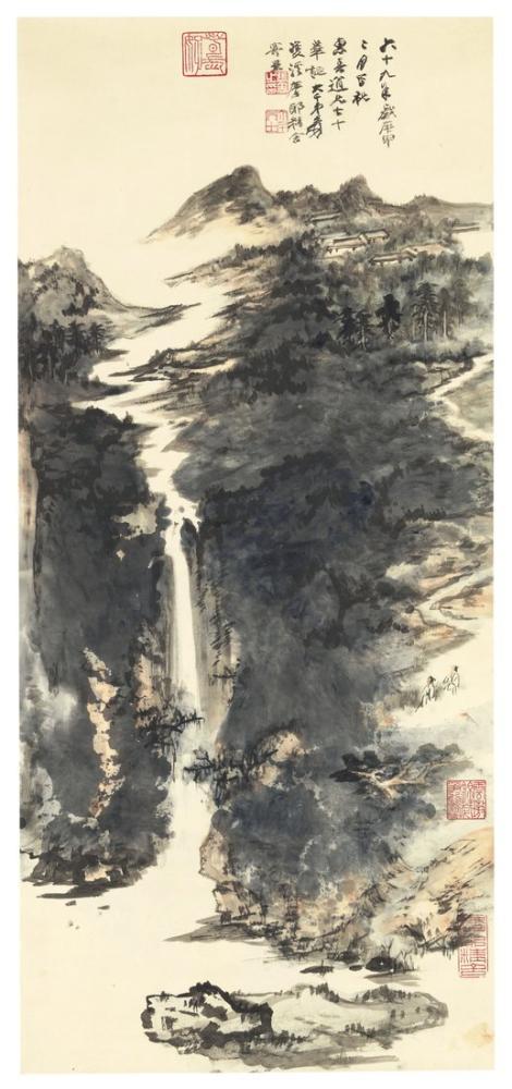Daqian Zhang Manzara, Kanvas Tablo, Daqian Zhang, kanvas tablo, canvas print sales