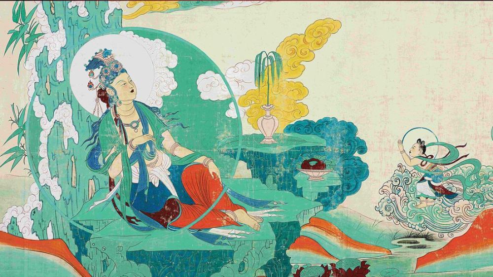 Daqian Zhang Çin Kadınları, Kanvas Tablo, Daqian Zhang
