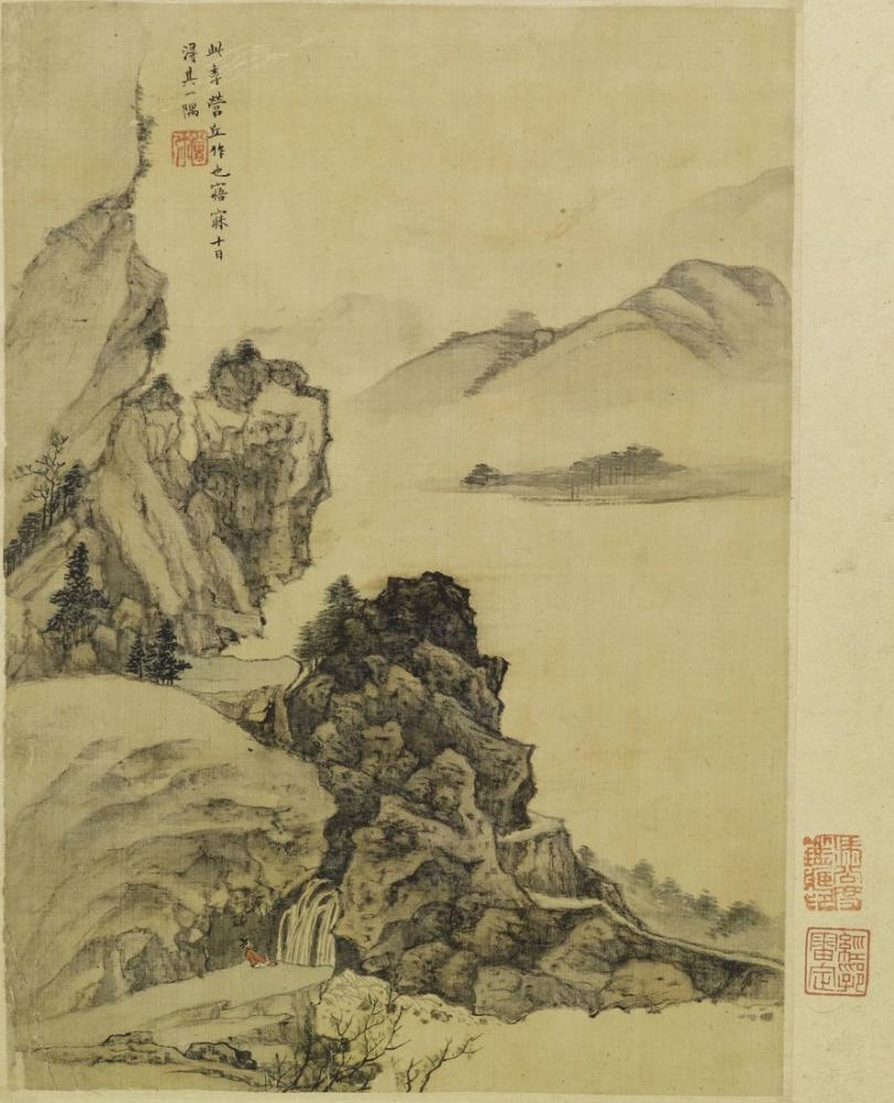 Daqian Zhang Shao Mi, Kanvas Tablo, Daqian Zhang