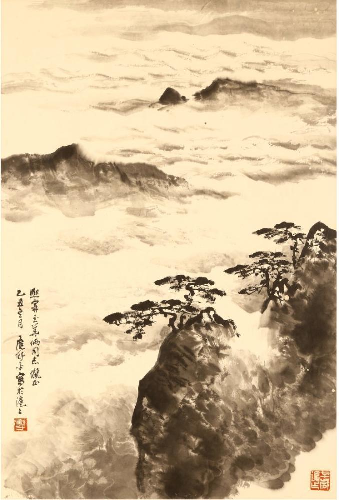 Daqian Zhang Deniz, Kanvas Tablo, Daqian Zhang