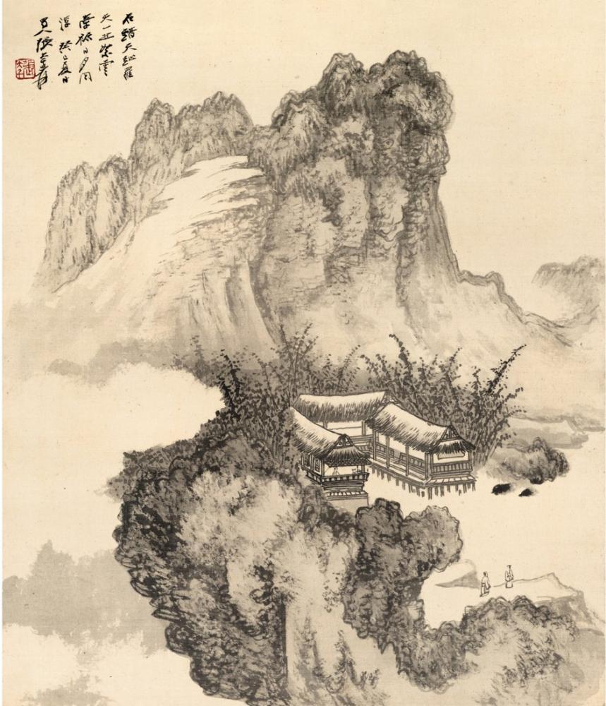 Daqian Zhang Chien Sahteciliği, Kanvas Tablo, Daqian Zhang, kanvas tablo, canvas print sales