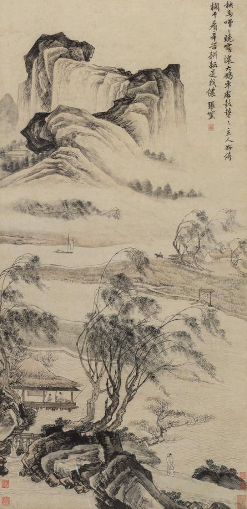 Daqian Zhang Sketch, Canvas, Daqian Zhang, kanvas tablo, canvas print sales