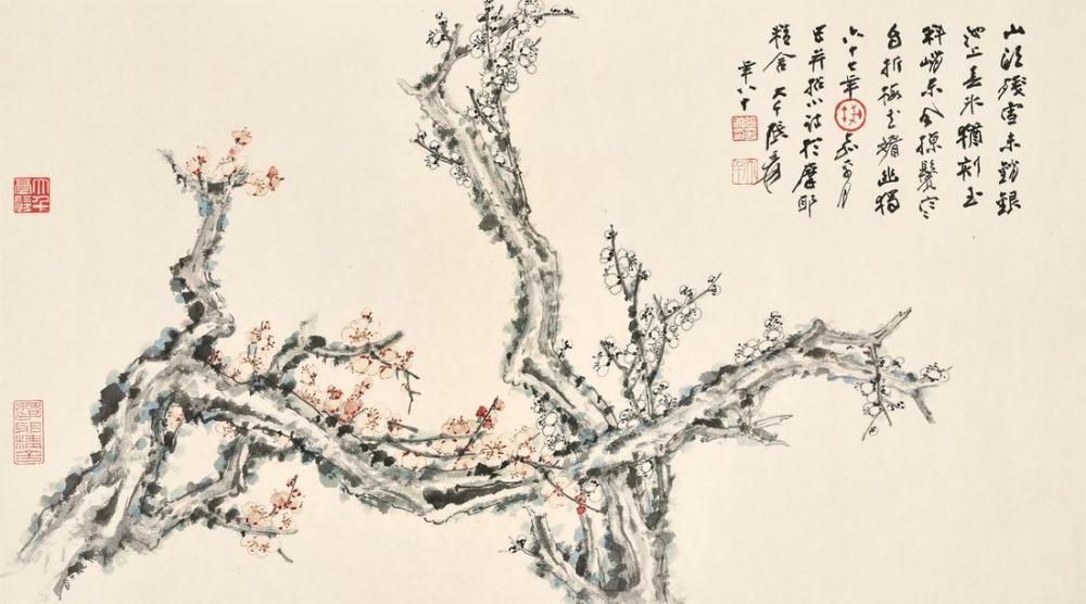 Daqian Zhang Erik Çiçeği, Kanvas Tablo, Daqian Zhang, kanvas tablo, canvas print sales