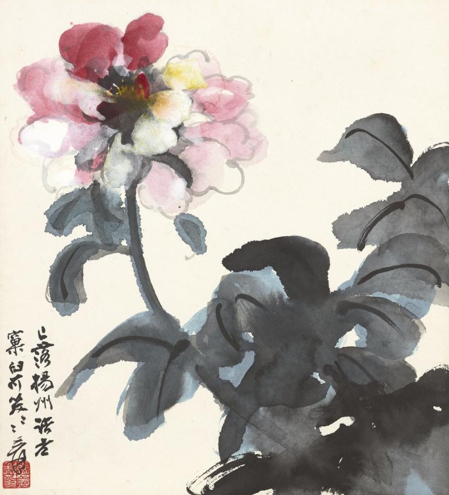 Daqian Zhang Yapay Çiçek, Kanvas Tablo, Daqian Zhang