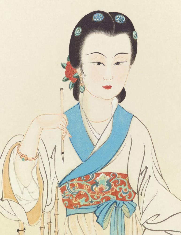 Daqian Zhang Ayrılık, Kanvas Tablo, Daqian Zhang