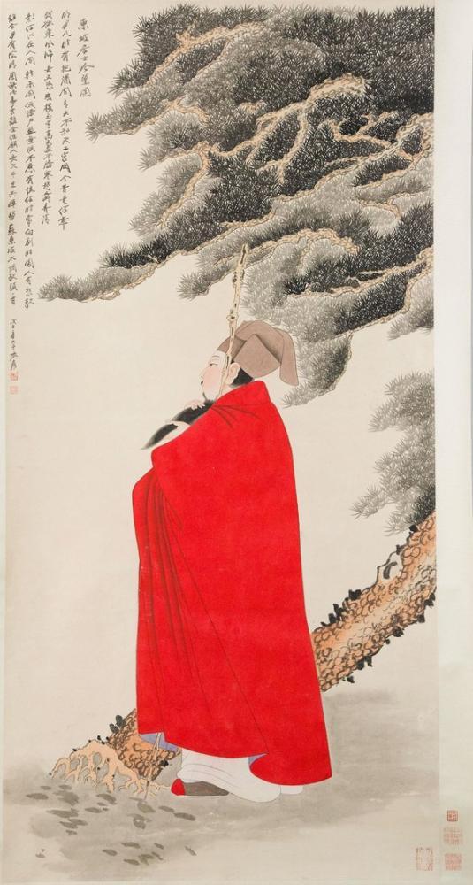 Daqian Zhang Çinli, Kanvas Tablo, Daqian Zhang