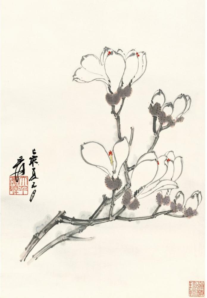 Daqian Zhang Manolya, Kanvas Tablo, Daqian Zhang