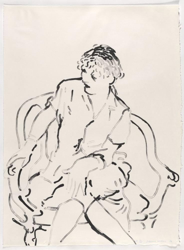 David Hockney, Soran Celia, Figür, David Hockney