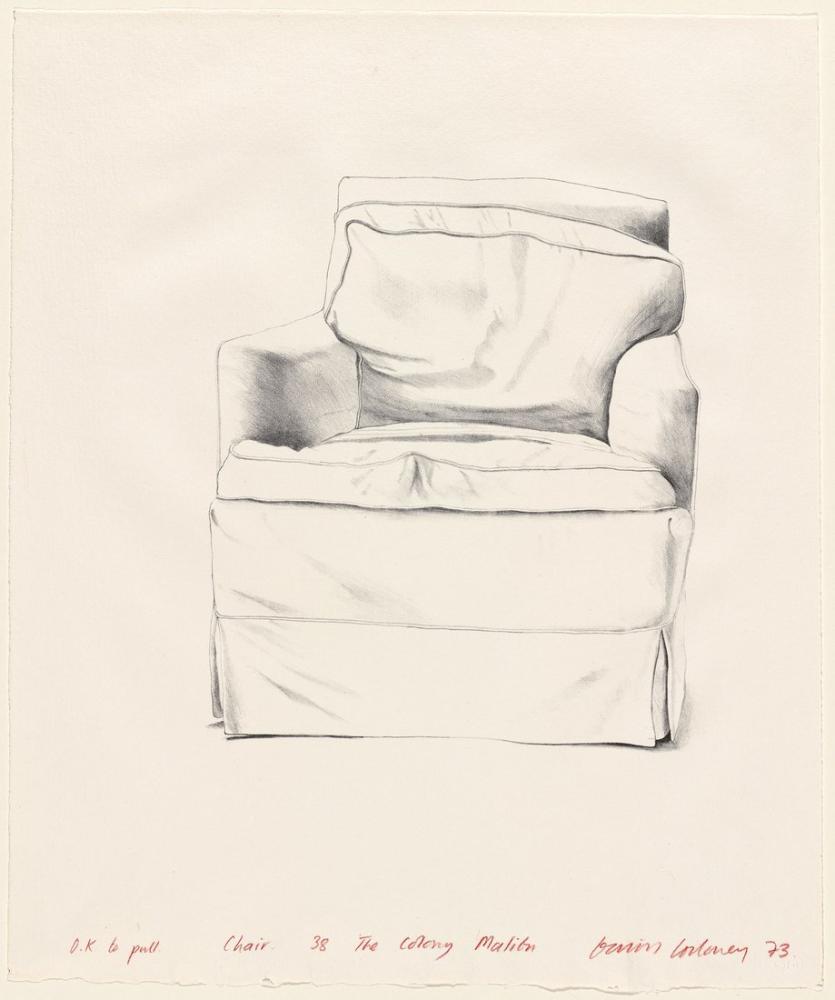 David Hockney, Koltuk, Kanvas Tablo, David Hockney, kanvas tablo, canvas print sales