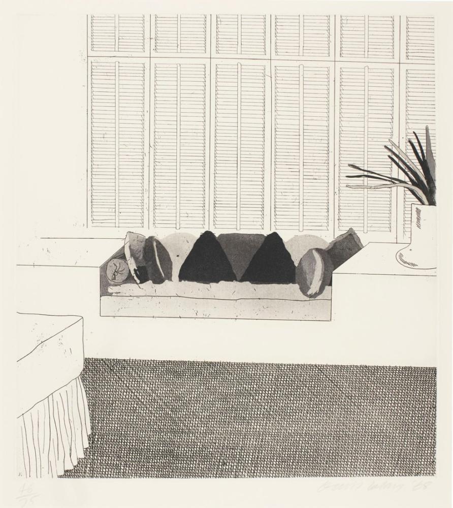 David Hockney, Yastıklar, Kanvas Tablo, David Hockney
