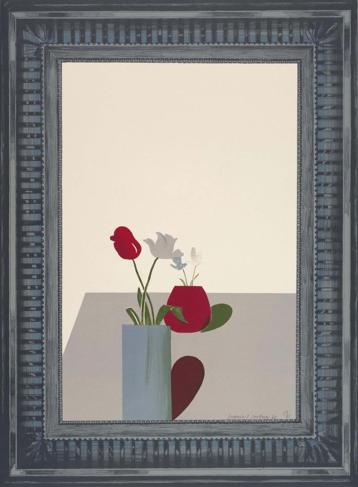 David Hockney, Bir Hollywood Koleksiyonu 2, Kanvas Tablo, David Hockney