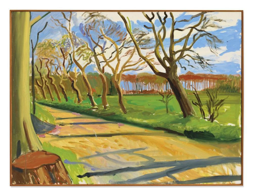 David Hockney, Doğu Yorkshire Manzaraları, Kanvas Tablo, David Hockney