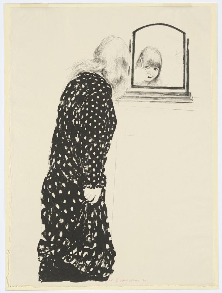 David Hockney, Saçlarını Tarayan Anne'den Çok Daha Fazlası, Figür, David Hockney