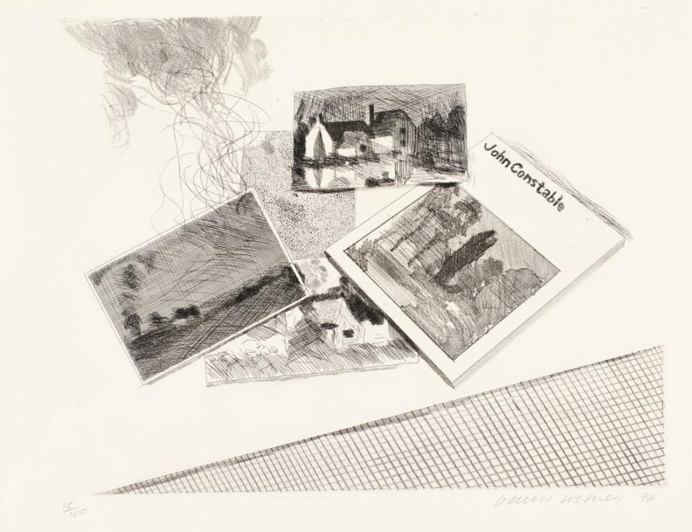 David Hockney, For John Constable, Canvas, David Hockney, kanvas tablo, canvas print sales