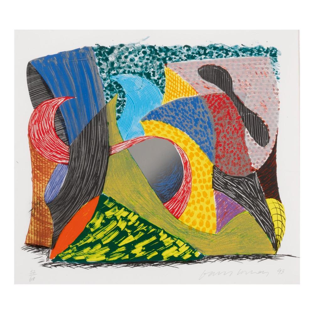 David Hockney, Dışarı Çıkmak, Kanvas Tablo, David Hockney