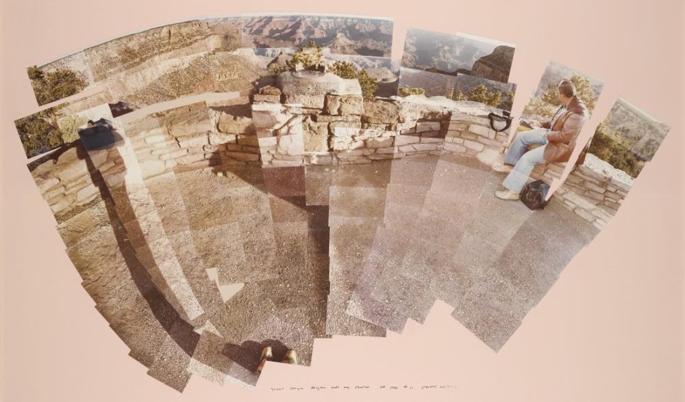David Hockney, Büyük Kanyon, Arizona, Kanvas Tablo, David Hockney
