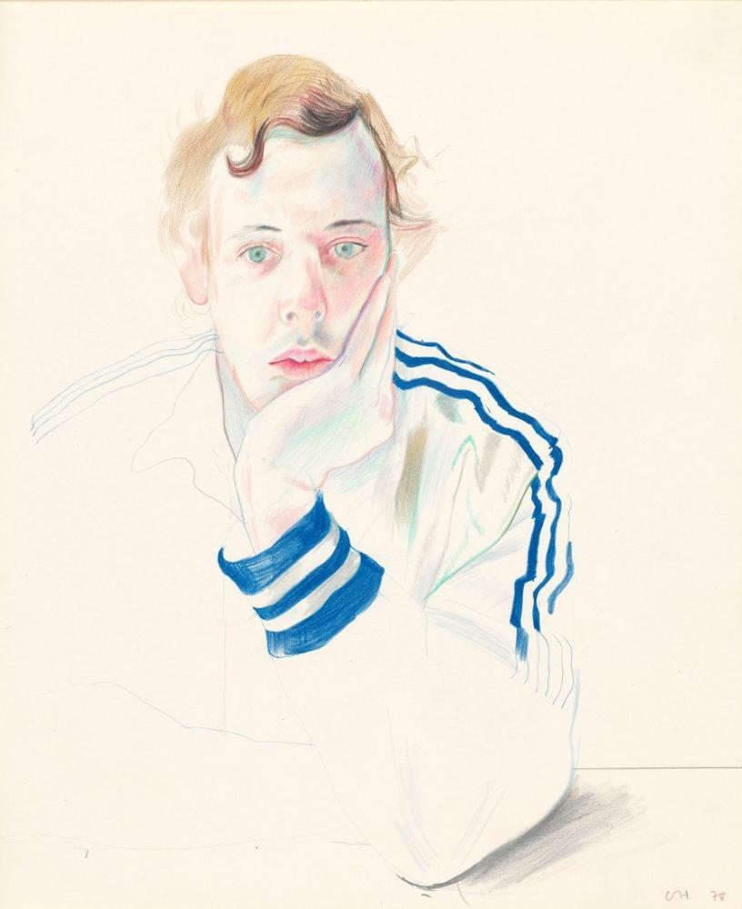 David Hockney, Gregory, Kanvas Tablo, David Hockney