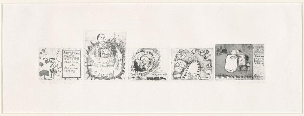 David Hockney, Gretchen ve Snurl 1961, Figür, David Hockney