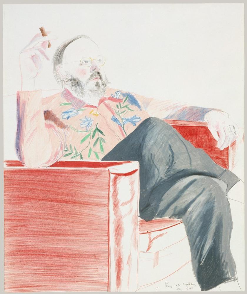 David Hockney, Henry, Yedinci Cadde, Figür, David Hockney, kanvas tablo, canvas print sales